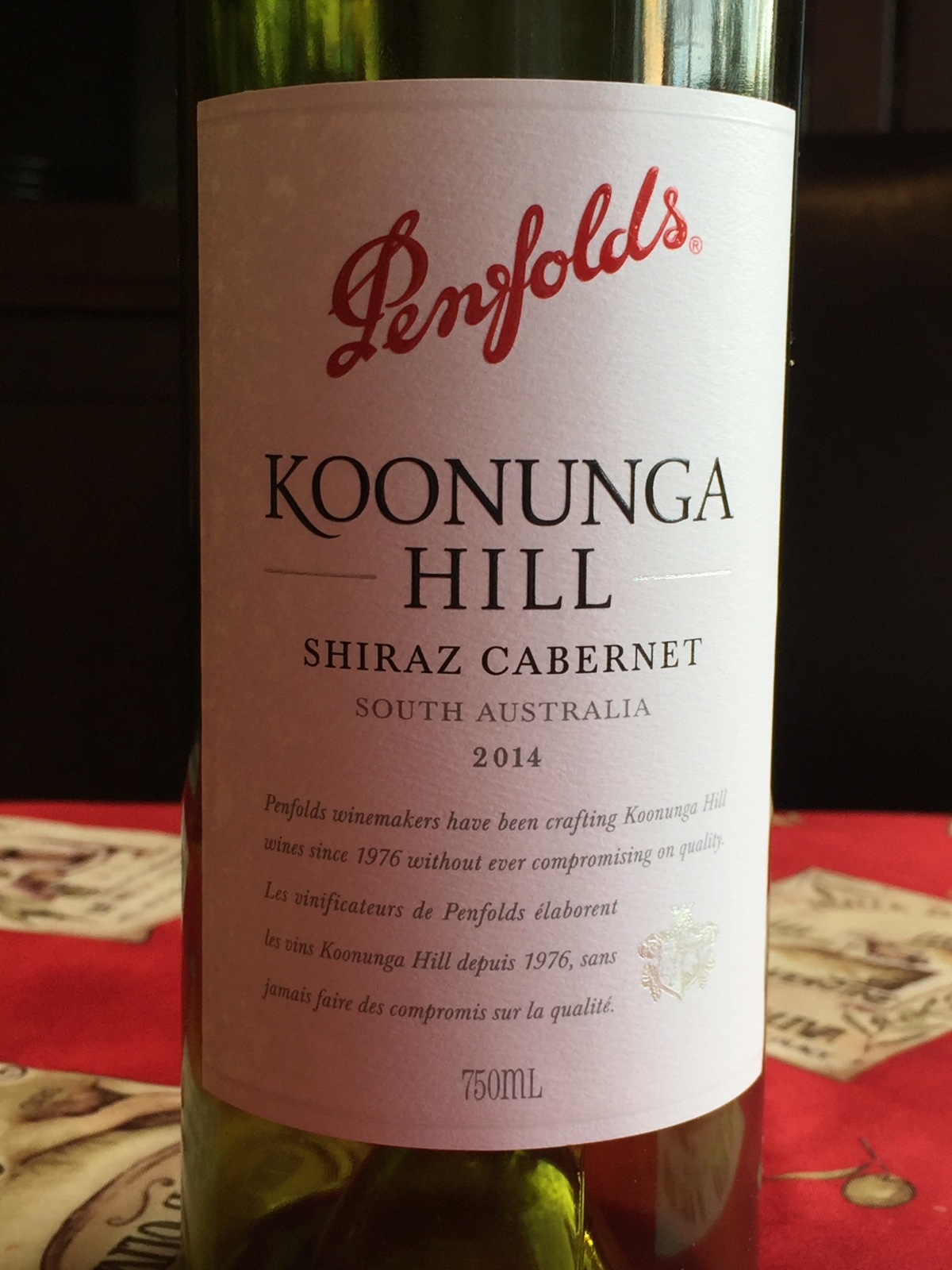 Review: Penfolds 2014 Koonunga Hill Shiraz Cabernet