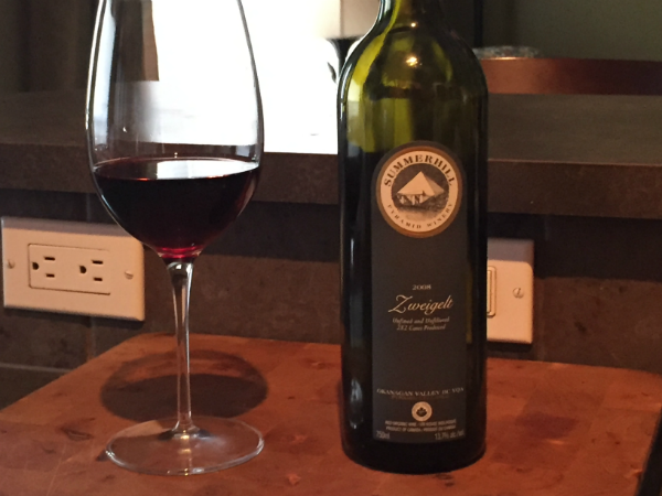 Review: Summerhill Pyramid Winery 2008 Zweigelt
