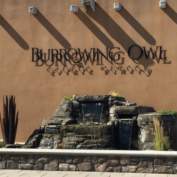 Burrowing Owl Winery along the Black Sage Bench