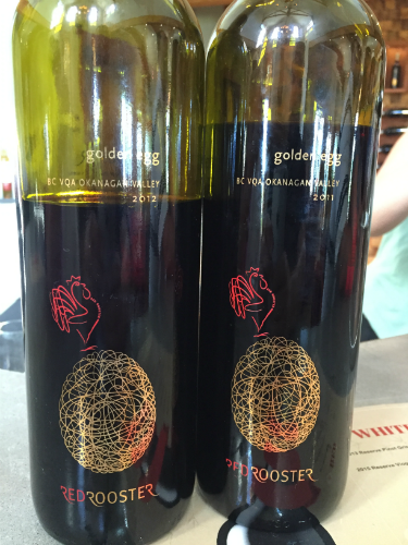Golden Egg Wine @ Red Rooster