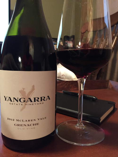 Yangarra Estate Vineyard - 2012 McLaren Vale Grenache
