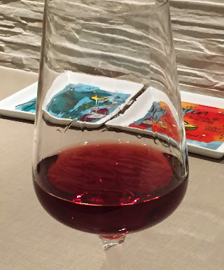Underwood 2014 Pinot Noir in a glass