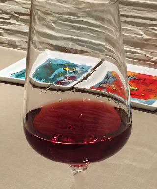 Underwood 2014 Pinot Noir in a glass