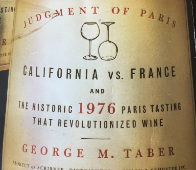 1976 Judgement of Paris, California vs. France…