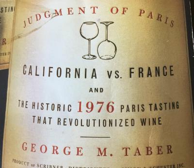 1976 Judgement of Paris, California vs.France…
